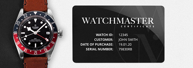 The Watchmaster certificate